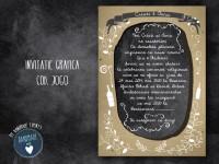 invitatie nunta grafica cod 3060