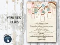 invitatie nunta vintage_ cod 0021