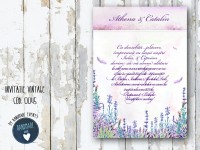 invitatie nunta vintage_ cod 0045_athena