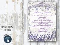 invitatie nunta vintage_ cod 0048_athena
