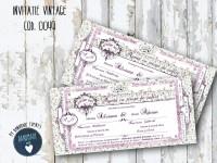invitatie nunta vintage_ cod 0049_silviana