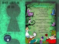 invitatie nunta wonderland cod 00